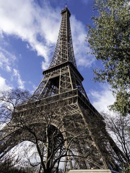 eiffel tower architecture symbol
