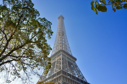 eiffel tower  paris is the capital of french  monument