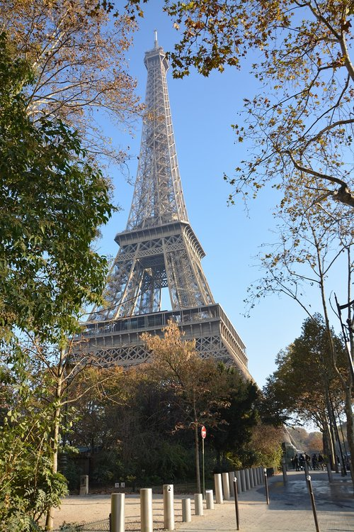 eiffel tower  monument heritage  paris