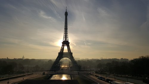 eiffel tower  france  landmark
