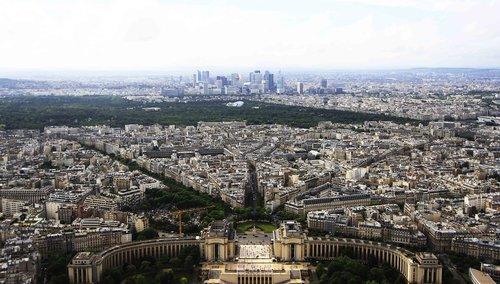eiffel tower  paris  tourism