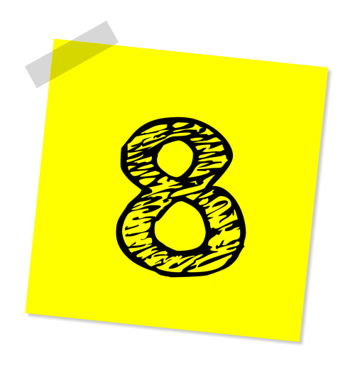 eight 8 number