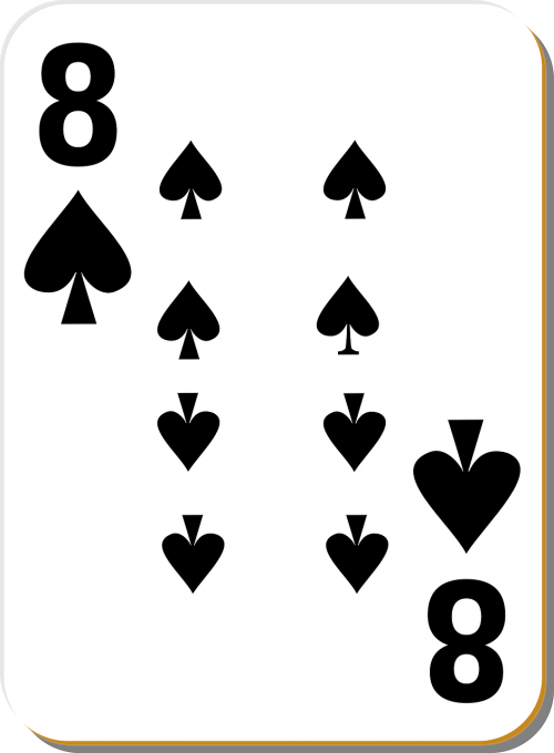 eight spade card