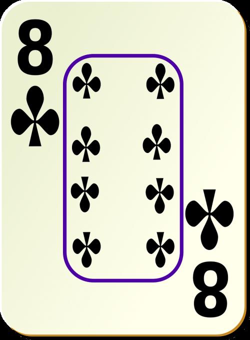 eight 8 clubs