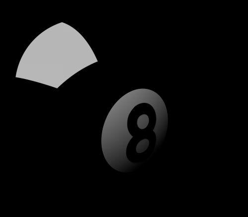 Iliustracijos, clip & nbsp, menas, iliustracija, grafika, 3d, rutulys, aštuoni & nbsp, kamuolys, baseinas, baseinas & nbsp, kamuolys, sportas, žaidimai, poilsis, laisvalaikis, juoda, aštuoni rutuliai