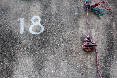 eighteen 18 number