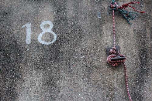 eighteen wall number