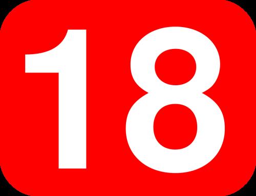 eighteen number box