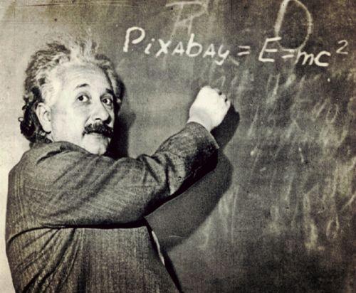 einstein professor humor