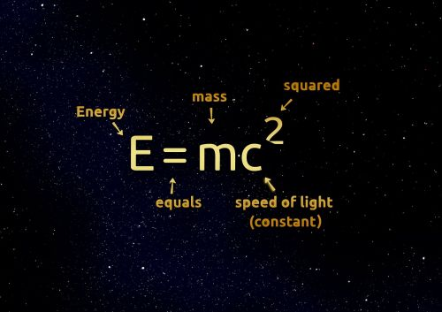 einstein formula mathematics