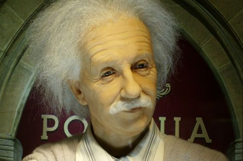 einstein the museum figure of wax