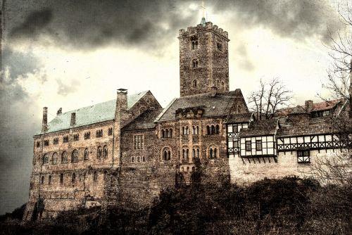 eisenach wartburg castle thuringia germany