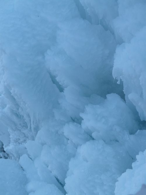eiskristalle frozen ice