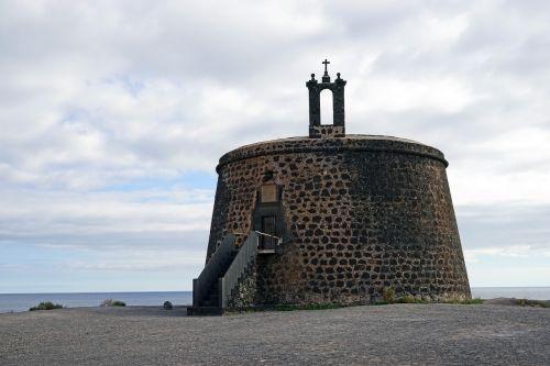 el castillo o torre del aguila lanzarote south coast