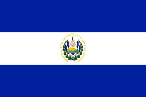 el salvador flag national flag