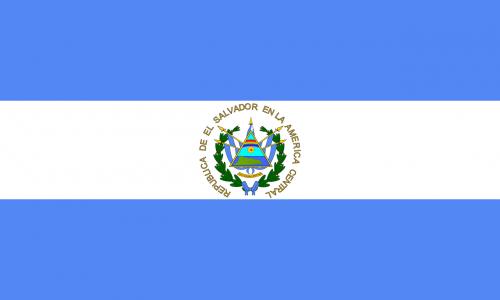 el salvador flag country