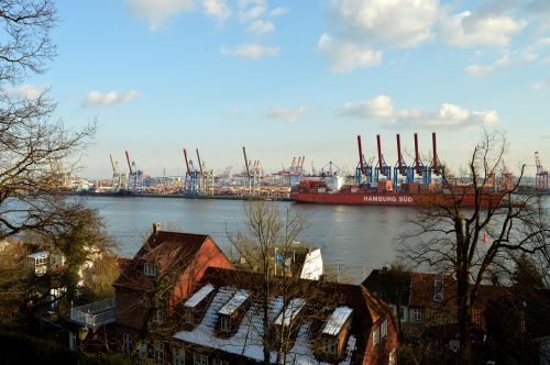 elbe hamburg port