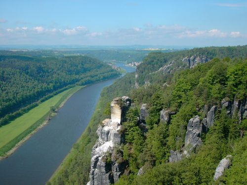 elbe elbe sandstone mountains watchtower