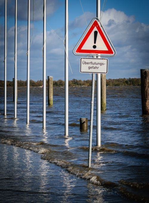 elbe high water nature