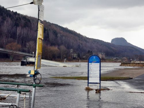 elbe flood elbe bad schandau