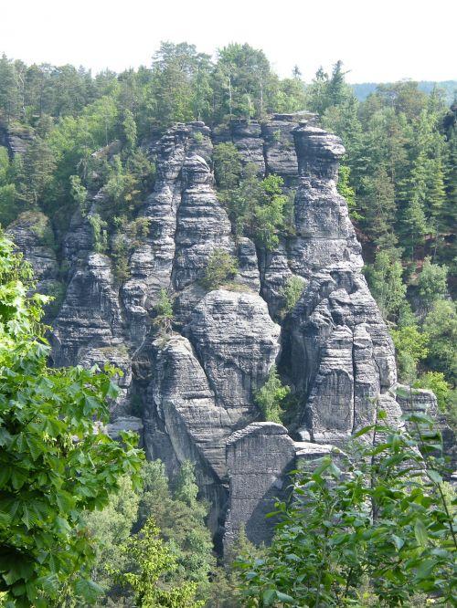 elbe sandstone mountains schrammsteine elbe