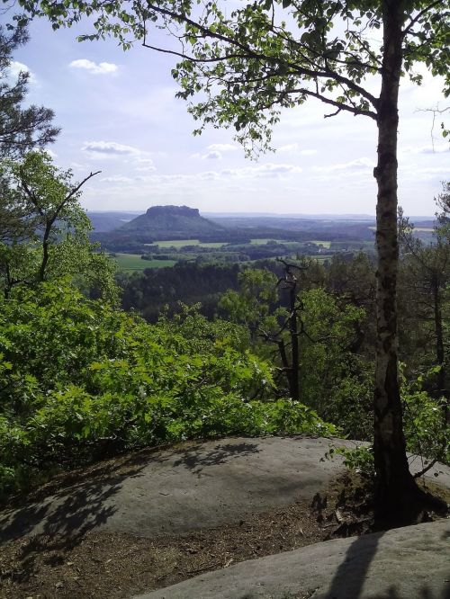 elbe sandstone mountains climb hiking