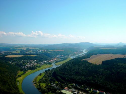 elbe valley elbe river