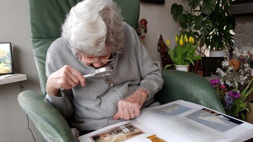 elderly old age visual impairment