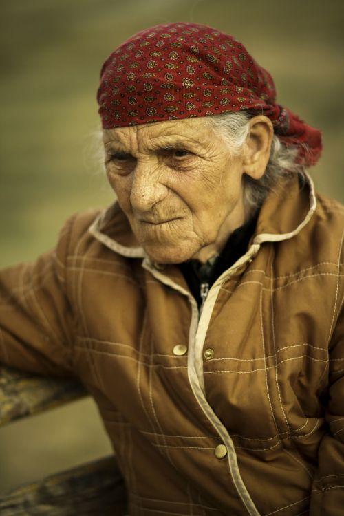 elderly woman female