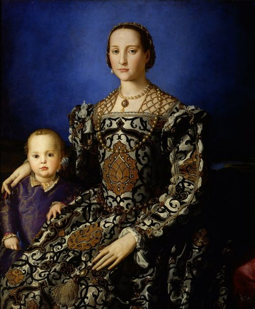 eleanor of toledo woman child