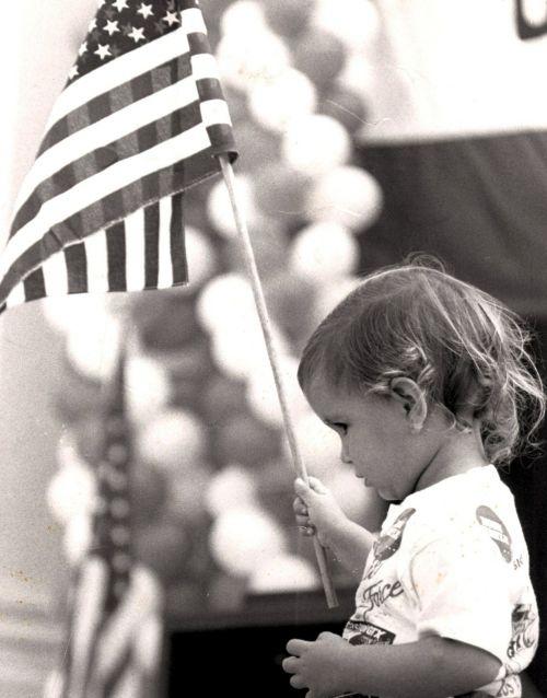 election rally patriotic