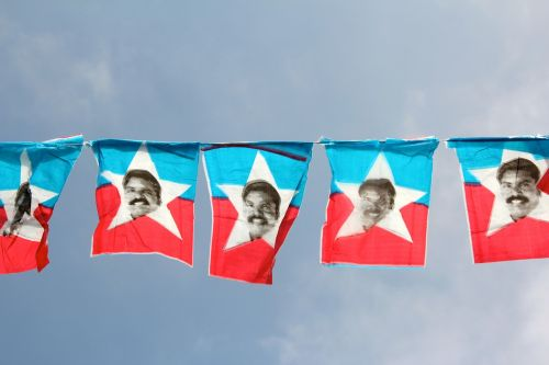 election campaign pennant flag