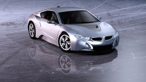 electric car sports car car