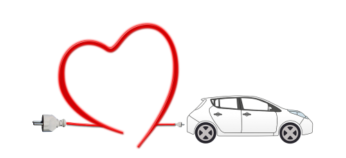 electric car heart environment