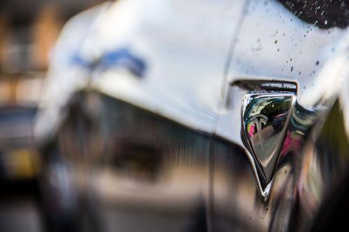 electric car tesla car
