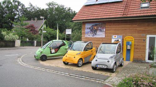 electric car vehicles small car