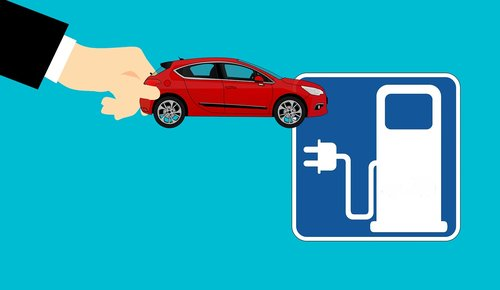 electric car  charging station  e car