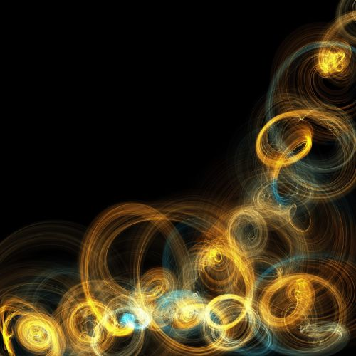 Electric Gold Waves