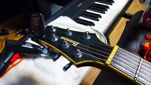 electric guitar  electric guitar head  electric guitar whit turner