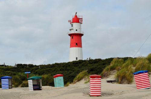lighthouse daymark borkum