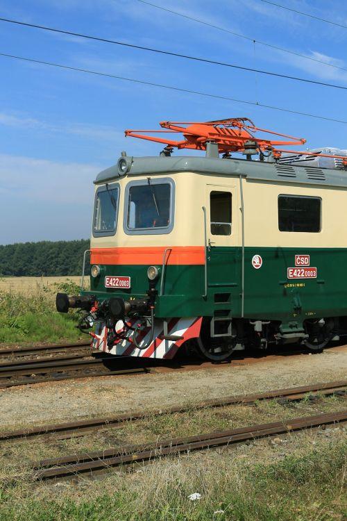 electric locomotive railway historically