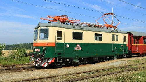 electric locomotive railway museum train