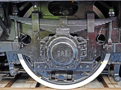 electric locomotive drive axle spring pot drive