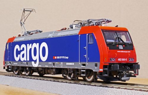 electric locomotive model scale h0
