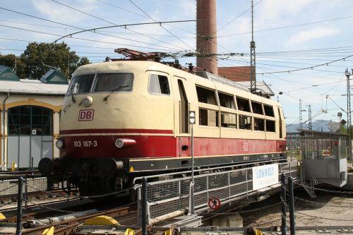 electric locomotive railway hub