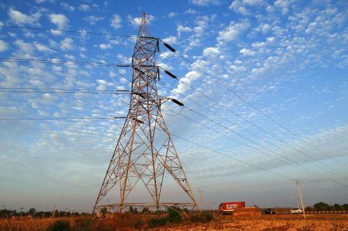 electric power pylon high voltage