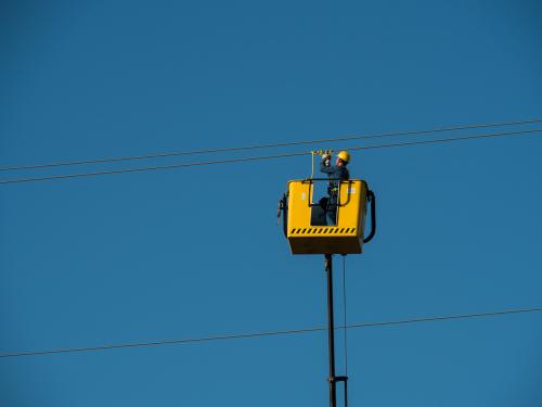 electricians cables hv