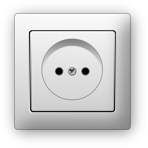 electricity outlet plug