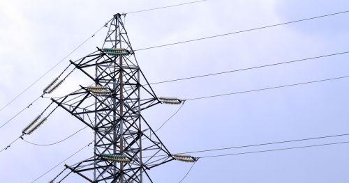 electricity pylon power line
