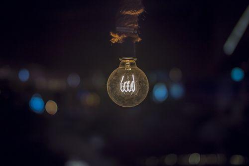 electricity bulb light